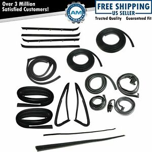 Complete Weatherstrip Kit 18 Piece Set For Gmc Jimmy Chevy K5 Blazer Fullsize