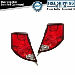 Taillight Taillamp Pair For Saturn Ion Sedan 03 04 05 06 07