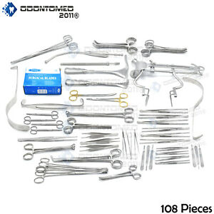 108 Instruments Basic Laparotomy Set Surgical Medical Ds 677