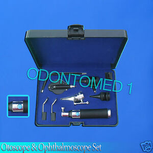 Otoscope Ophthalmoscope Set Switch Style Ent Surgical Instruments Nt 901