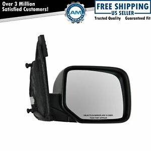 Power Heated Smooth Black Mirror Passenger Side Right Rh For 09 13 Honda Pilot