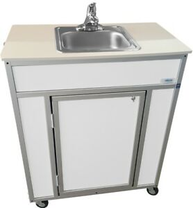 Indoor outdoor Single Basin Portable Sinks For Restaurant banquet Hall labs lawn