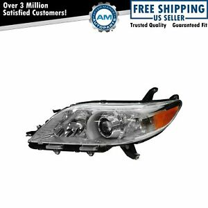 Halogen Headlight Headlamp Driver Side Left Lh Lf New For 11 20 Toyota Sienna