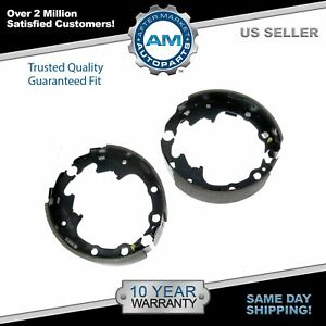 Nakamoto Rear Bonded Drum Brake Shoes Set For Dodge Chrysler Jeep Plymouth