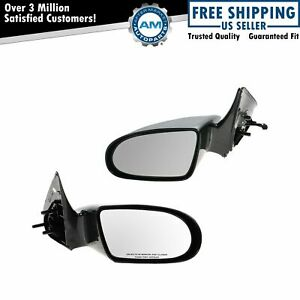 Manual Side View Mirrors Pair Set Of 2 For Pontiac Firefly Chevy Sprint Metro