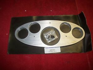 1932 Ford Coupe Convertable Sedan Aluminum Oval Style Dash Panel Nickel Machine