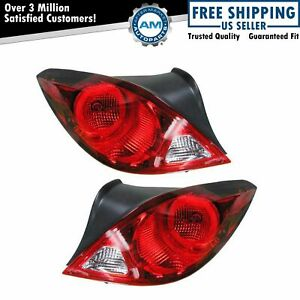 Taillights Taillamps Brake Light Left Right Pair Set For 06 09 Pontiac G6 Coupe