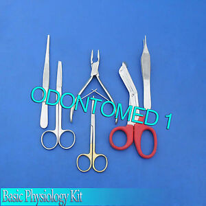Basic Physiology Kit Surgical Dental Instruments ds 606
