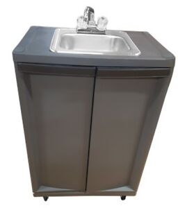 Single Compartment Self Contained Portale Sink Pse 2001 monsam Portable Sink