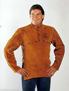 Tillman 3821 Leather Welding Cape Sleeves W 20 Bib Size Large