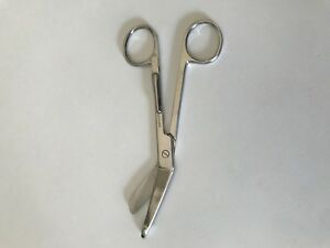 Lister Bandage Nurse Scissors 5 5 With Pocket Clip