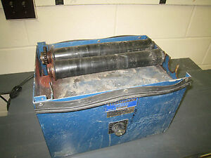 Us Stoneware One tier Jar Mill With Adjustable Rollers Variable Speed