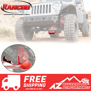 Rancho Rockgear Front Differential Skid Plate For 07 18 Jeep Wrangler Jk Dana 30