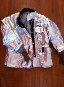 Lion Janesville Firefighter Proximity Jacket Csax 90 42 42r Very Good Turnout