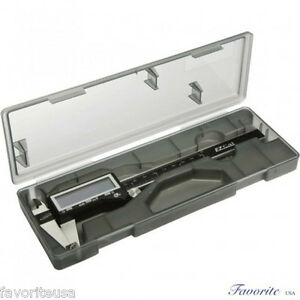 6 Digital Electronic Caliper Gauge Large Display By Igaging Inch Fractional