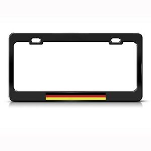 Germany German Deutschland Country Metal License Plate Frame Tag Holder
