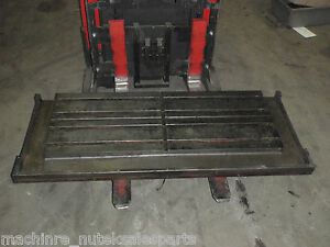 60 X 25 X 9 T slotted Table Cast Iron Steel Layout Welding _ A15016 _ A15017