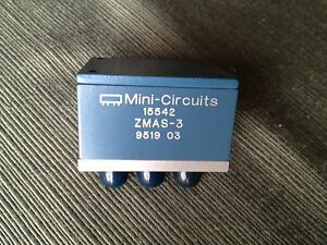 Mini circuits Zmas 3 Attenuator Switch 50 Bi phase 1 To 200 Mhz