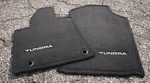 Toyota Tundra 2012 2013 Black Carpet Carpet Mats Oem New