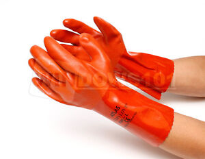 Atlas Showa 620 Pvc Chemical Resistant Liquid Proof Gloves Any Size Free Ship
