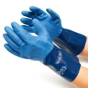 Atlas Showa 720 Chemical Resistant Nitrile Work Gloves Any Size Free Ship