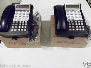 Avaya Lucent Partner 18d Display Phones 2 Pack With Warranty