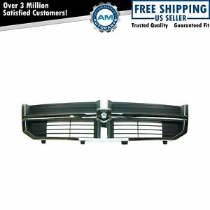 Grille Assembly Black Chrome For 08 10 Dodge Avenger