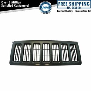 Grille Black Paint To Match For 06 10 Jeep Commander