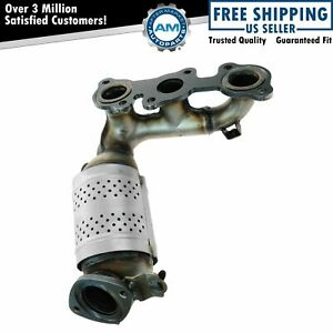 Exhaust Manifold Integral Catalytic Converter Lh For Toyota Camry Lexus Es300