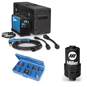 Miller Spectrum 625 X treme Plasma Cutter W 12ft Torch 907579 And Accessories
