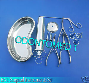 Ent Surgical Instruments Set Of 21 Pcs Ds 963