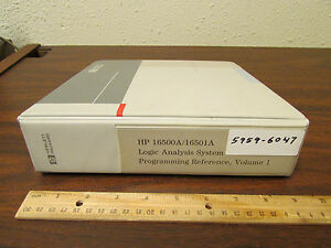 Hp 16500a 16501a Logic Analysis System Programming Reference Vol 1 5959 6047