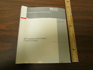 Hp Standard Instrument Control Library For Hp ux Manual E2091 90007
