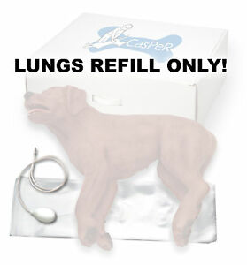 Brand New Simulaids Casper The Cpr Dog Lungs Refill 100 pack 5001