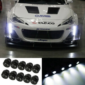 Hid White 30w High Power Flexible Led Daytime Running Lights W Free Shape Style