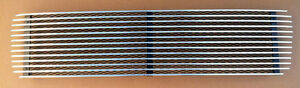 Porsche 69 911 912 3 Bar Aluminum Engine Lid Deck Lid Grille Polished Black New