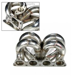 Rev9 Civic D series D15 D16 Eg Ek Equal Length Stainless T3 t4 Turbo Manifold