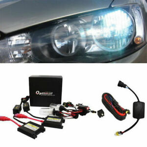 8000k 9006 Hid Conversion Kit Drl Bypass Relay For Mitsubishi Lancer Or Evo X