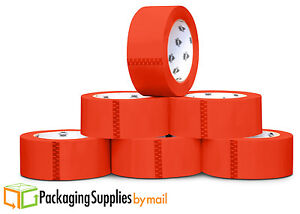 12 Rolls 2 X 110 Yds Red Color Carton Sealing Packing Tape 2mil Free Shipping