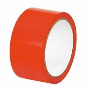 Red Aisle Marking Pvc Safety Tapes 24 Rolls 2 X 36 Yards 7 Mil