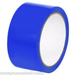 Blue Floor Marking Pvc Safety Tapes 2 X 36 Yds 7 Mil Thick 24 Rls