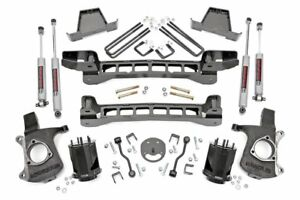 6 Suspension Lift 99 06 Chevy Silverado 1500 Gmc Sierra 1500 2wd 6 Lug Models