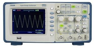 B k Precision 2532b Digital Storage Oscilloscope 2 Channels 40 Mhz 500 Msa s
