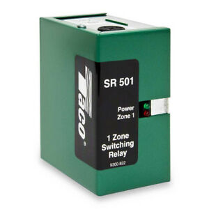 Taco Sr501 2 Pump Switching Relay 1 Zone