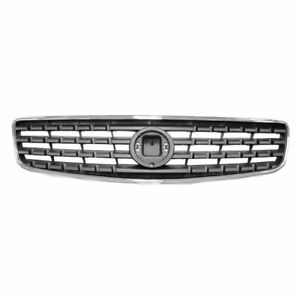 Chrome Gray Upper Front Grille Grill 62070zb000 For 05 06 Nissan Altima