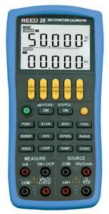Reed Vc25 Multifunction Process Calibrator