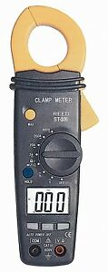 Reed St 336 Ac Autoranging Clamp Meter With Frequency 400 A