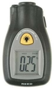Reed Ir 77 Digital Infrared Non contact Thermometer 22 To 518 f 30 To 270 c