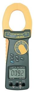 Reed Cm 9930 True Rms Ac dc Clamp Meter 2000 A