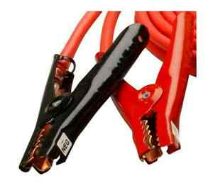 New Booster Jumper Jumping Cables Heavy Duty 25 Ft 4 Gauge Battery Power Car